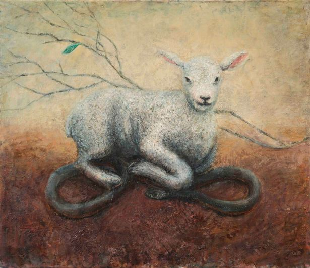 Marco Corsini, Lamb and snake, 2014-2016