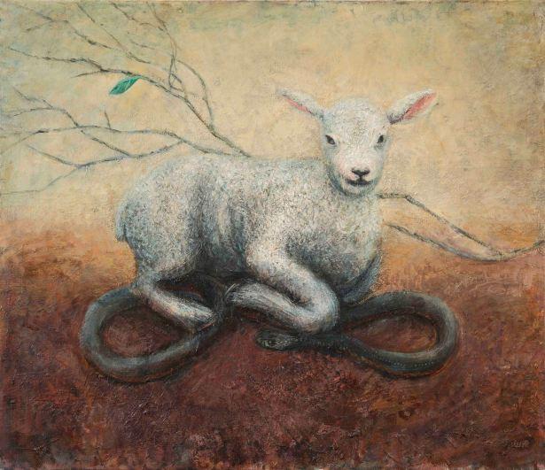 Marco Corsini, Lamb and snake, 2014-2016
