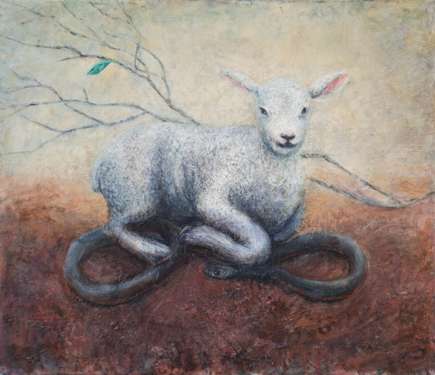 Marco Corsini, Lamb and snake 5300