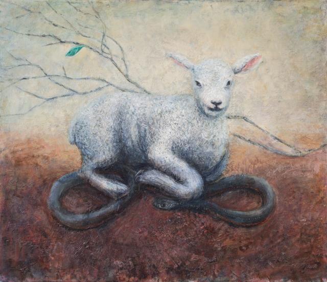 Marco Corsini, Lamb and snake 5300